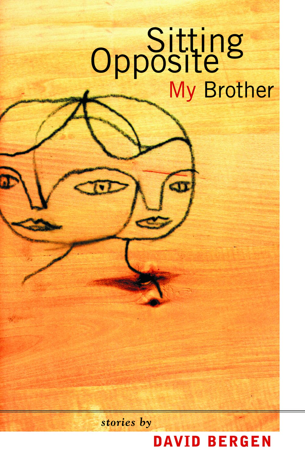 Sitting Opposite My Brother by David Bergen
