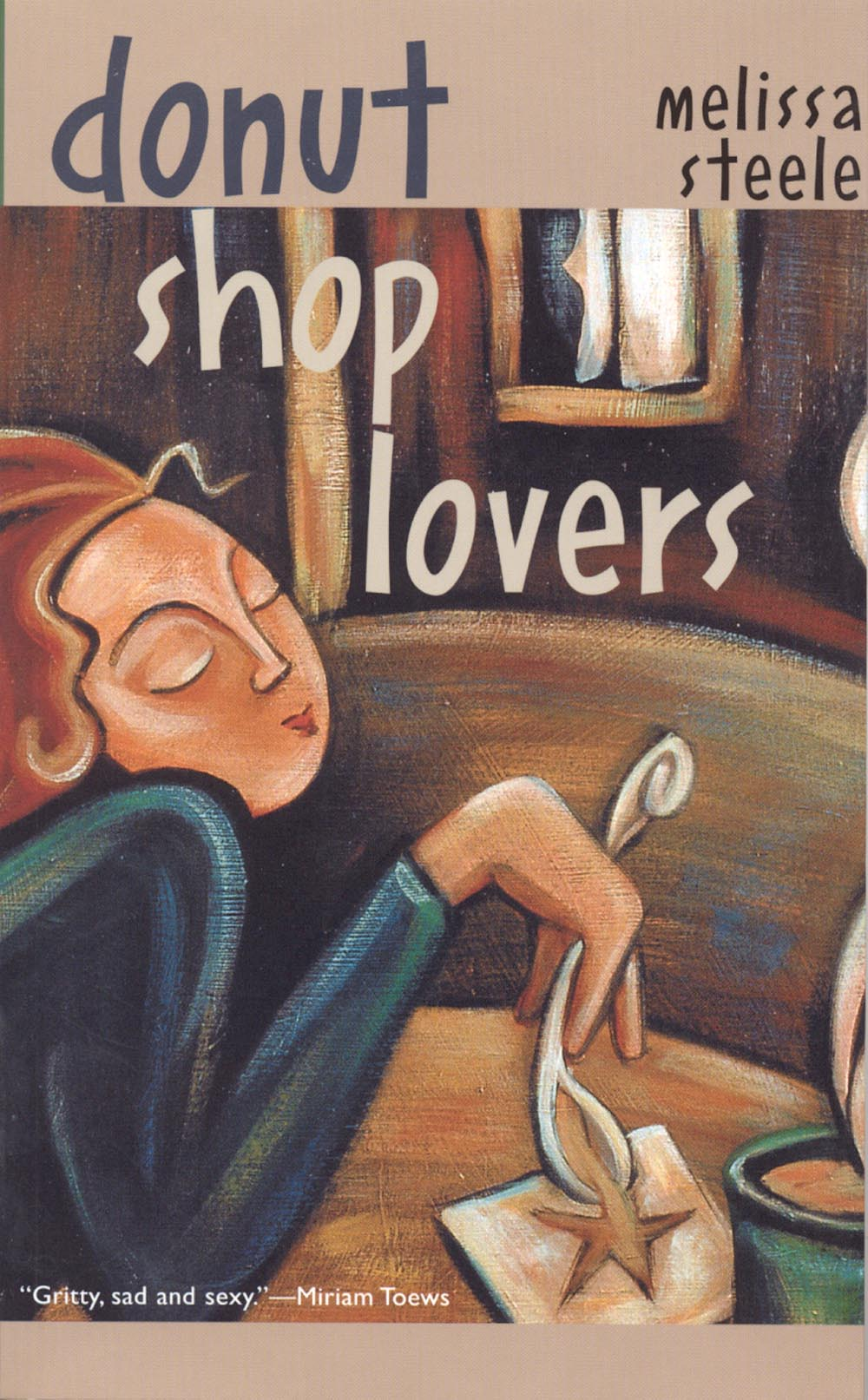 Donut Shop Lovers by Melissa Steele