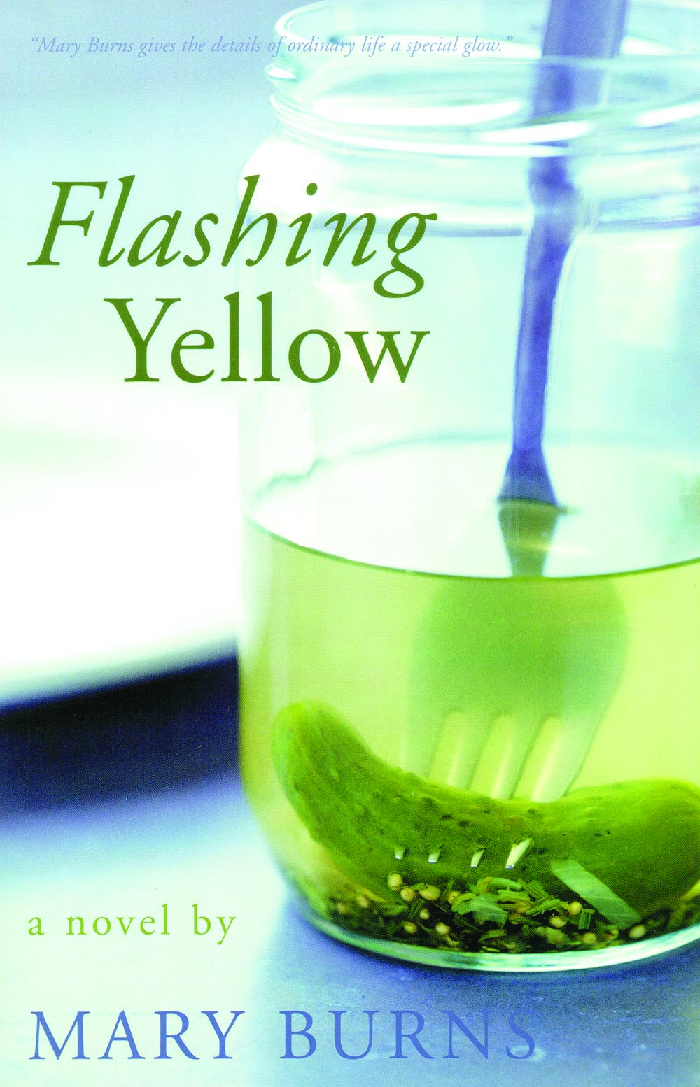 Flashing Yellow by Mary Burns