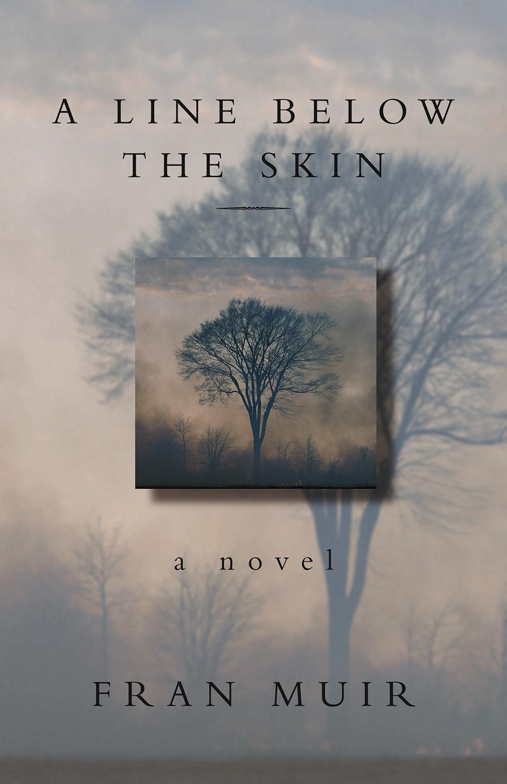 A Line Below the Skin by Fran Muir