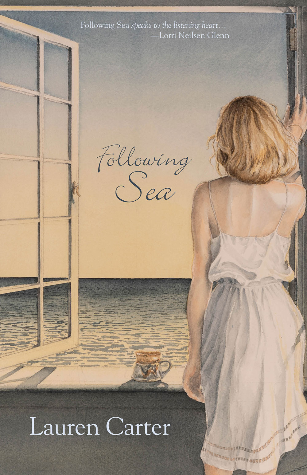 Cover of Following Sea by Lauren Carter