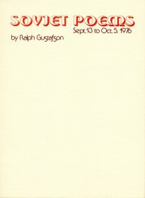 Soviet Poems by Ralph Gustafson