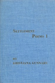 Settlement Poems (Hardcover) by Kristjana Gunnars