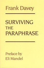 Surviving the Paraphrase by Frank Davey