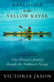 Kabloona in the Yellow Kayak by Victoria Jason